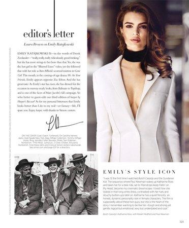 Editorial : Harper's Bazaar – wertzjennifer