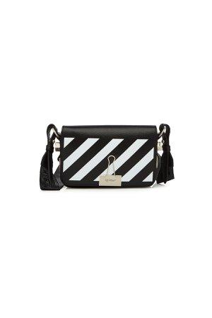 Mini Flap Leather Shoulder Bag Gr. One Size