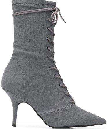 Debris sock ankle boots