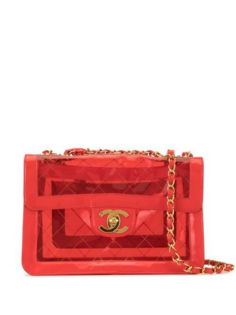 Chanel Pre-Owned Quilted Double Chain Shoulder Bag - Farfetch