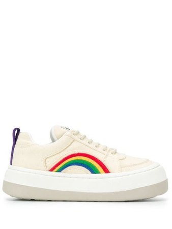 Rainbow Detail Sneakers