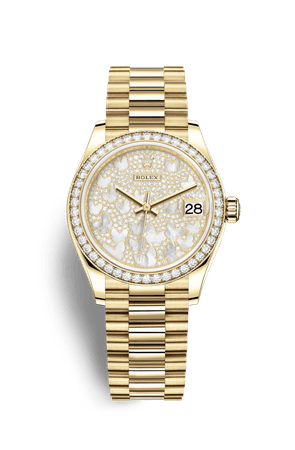 Relógio Rolex Datejust 31: Ouro amarelo 18 quilates – M278288RBR-0011