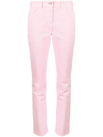 Versace mid-rise straight-leg Jeans - Farfetch