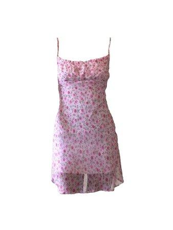 pink purple dress