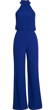 Lulus Moment for Life Halter Jumpsuit | Nordstrom