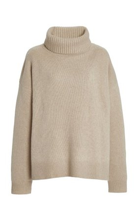 Jennie Oversized Cashmere Turtleneck Sweater By Lisa Yang | Moda Operandi