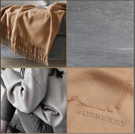 camel brown + heather grey contest