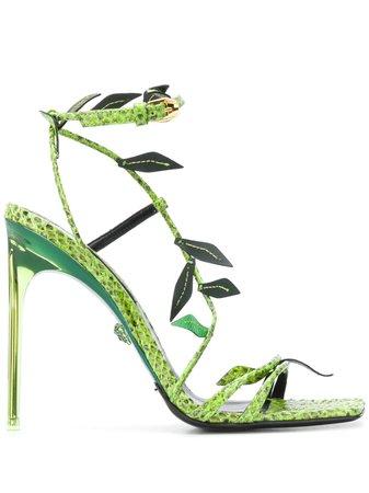 Versace Sandali Antheia Con Tacco a Stiletto - Farfetch