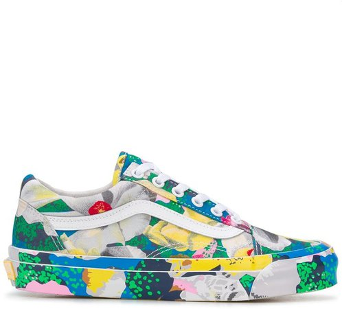 x Vans Old Skool Tulipes sneakers