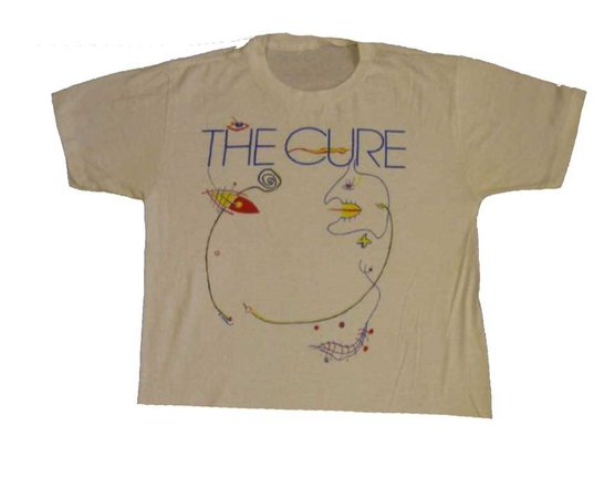 the cure tee