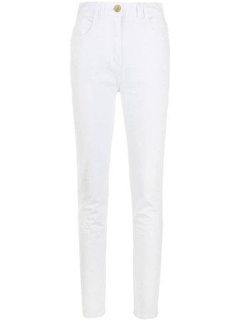 Balmain Jean Skinny à Taille Haute - Farfetch