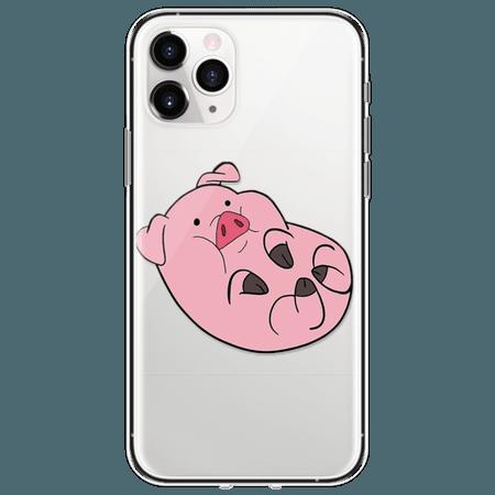 TPU Soft Cartoon Pig Cute Case for iPhone 7 8 Plus 11 Pro Max 6 6S 5S SE Funda iPhone XS Max Case for iPhone XR Case Cover Coque|Fitted Cases| - AliExpress