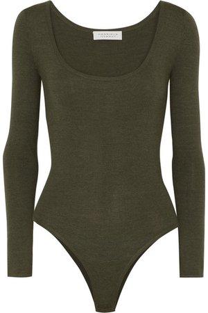 Gabriela Hearst   Emily cashmere-blend bodysuit   NET-A-PORTER.COM