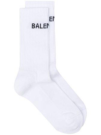 balenciaga socks white