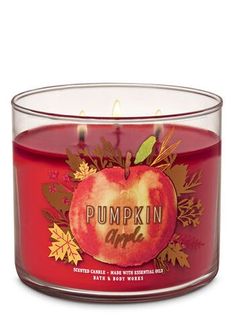 Pumpkin Apple 3-Wick Candle | Bath & Body Works