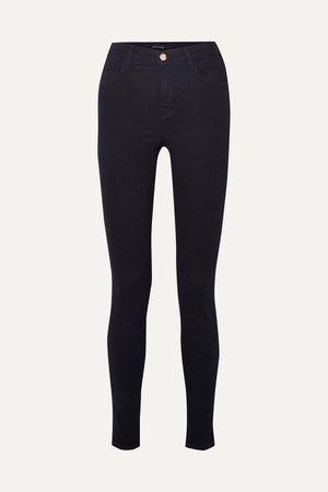 Blue Maria high-rise skinny jeans | J Brand | NET-A-PORTER