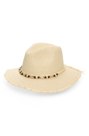 BP. Shell Detail Straw Hat | Nordstrom