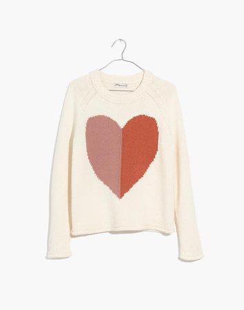Heart Keaton Pullover Sweater