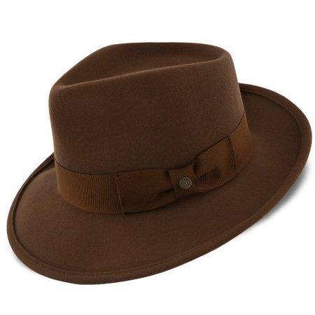 Capital Walrus Hats Wool Felt Fedora