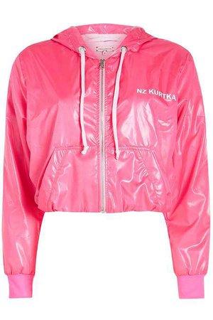 Natasha Zinko - Cropped Jogging Jacket - magenta