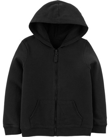 Zip-Up French Terry Hoodie   carters.com
