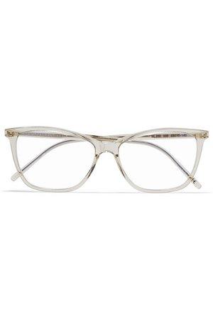 SAINT LAURENT | Square-frame acetate optical glasses | NET-A-PORTER.COM