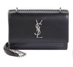 Sunset Leather Wallet on a Chain SAINT LAURENT Price$1,650.00