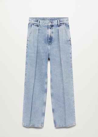 mango wide leg jeans