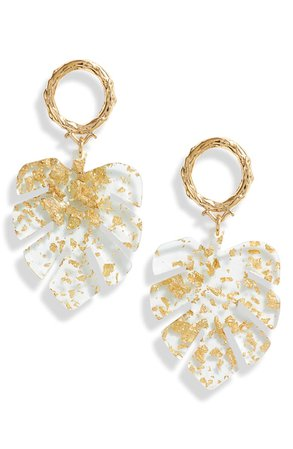 Bracha Palm Drop Earrings | Nordstrom