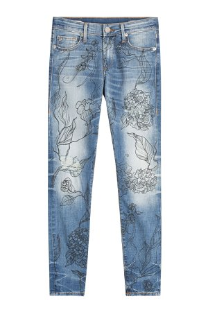 Halle Jeans with Floral Print Gr. 31