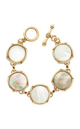 Gold-Tone Bright Side Bubble Bracelet By Brinker & Eliza   Moda Operandi
