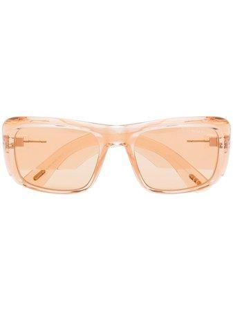 Tom Ford Eyewear Aristotle Rectangular Frame Sunglasses