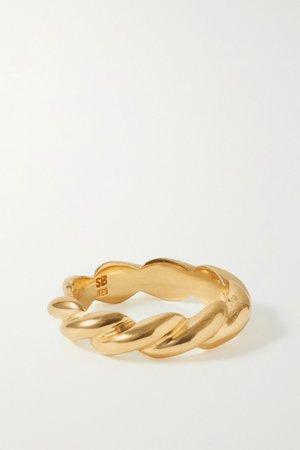 Gold + NET SUSTAIN gold vermeil ring | Sophie Buhai | NET-A-PORTER