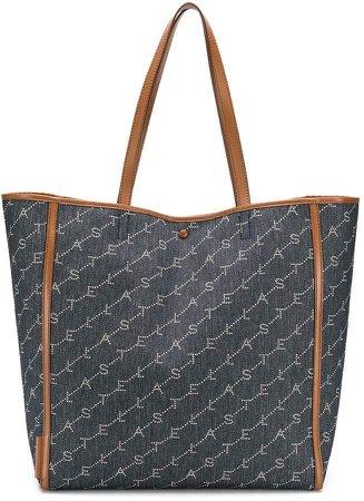monogram medium tote bag
