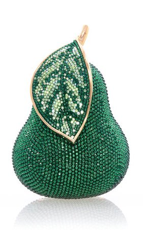 Avocado Crystal Novelty Clutch By Judith Leiber Couture | Moda Operandi