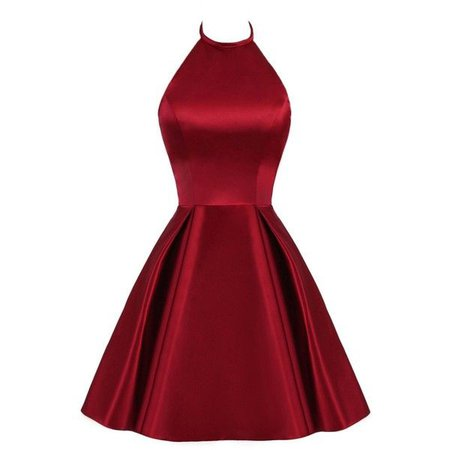 red cocktail dress polyvore - Google Search