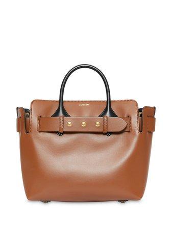 The Small Leather Triple Stud Belt Bag