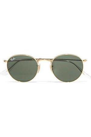 Ray-Ban | Round-frame gold-tone sunglasses | NET-A-PORTER.COM