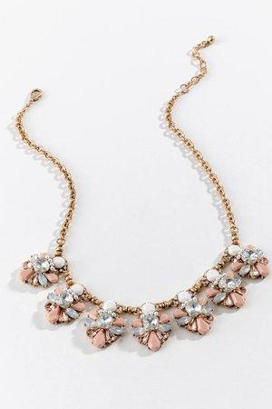 Vivienne Cluster Statement Necklace | francesca's