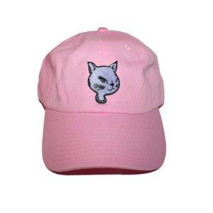 90's Wink Cat Cap - 90's Baseball Cap Winky Kitty Winking Cat Wink Cat