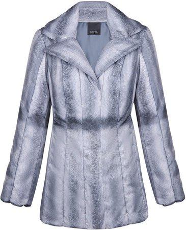 BEVZA Faux-Mink Puffer Jackets