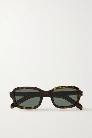 Prada | Square-frame tortoiseshell acetate sunglasses | NET-A-PORTER.COM