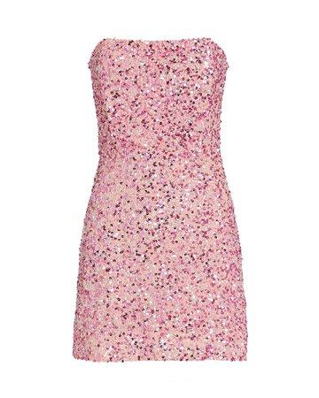 Retrofête Heather Strapless Sequin Dress | INTERMIX®