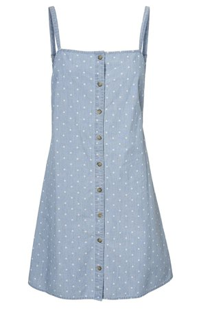 VERO MODA Mascha Chambray Minidress | blue