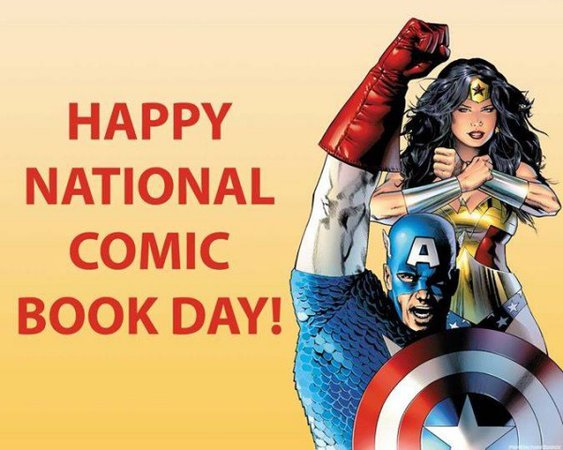 national comic book day september 25 - Google Search