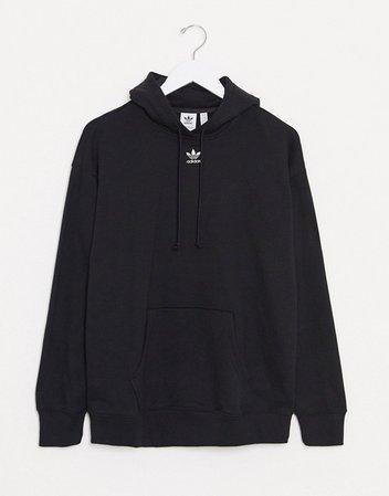 adidas Originals Essentials hoodie in black   ASOS