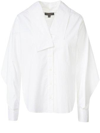 Burberry Blouse White on SALE   Fashionesta
