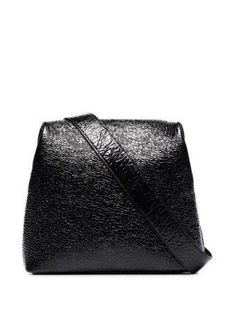 Osoi Brot textured-leather Shoulder Bag - Farfetch