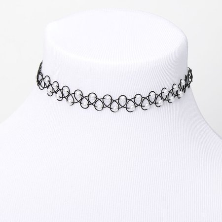 Pearl Tattoo Choker Necklace | Claire's US