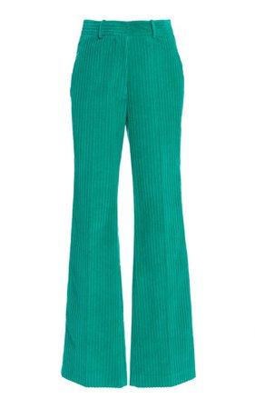 Flared Corduroy Pants by Victoria Beckham   Moda Operandi